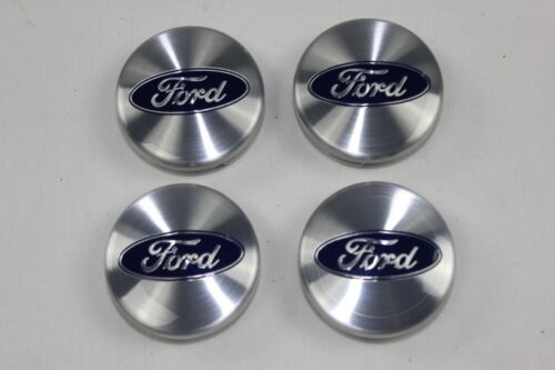 argento Originale Ford Coprimozzo Coprimozzo 4 Pezzi 6m21-1003-ba 1429120 4x