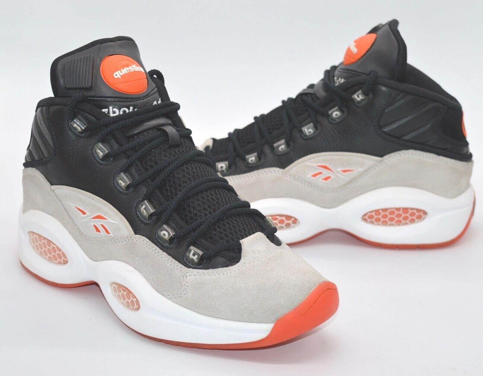 orange black sneakers