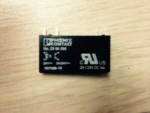 1 pcs Phoenix Contact 2966595 OPT-24DC//24DC//2 solid state relay