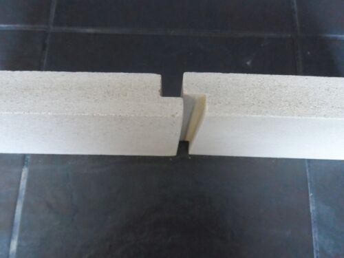 Fire Bricks to fit Firefox 8 Stove Fire Bricks Full Set with 2 Piece Rear Brick
