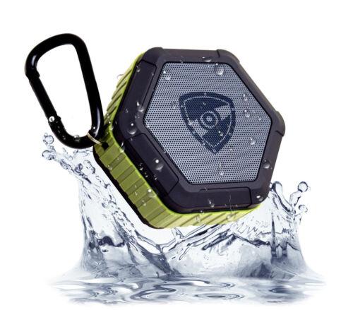 ZETTAGUARD Bluetooth IP67 Waterproof Shower Rechargeable Speaker Outdoor Mic NEW