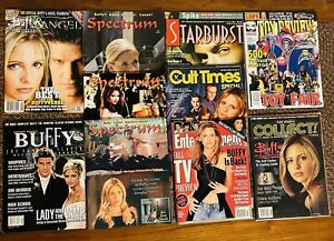Buffy The Vampire Slayer Year End And Special Issues Magazine Lot Of 10