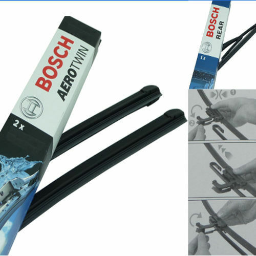 Bosch Scheibenwischer Vorne Hinten für RENAULT Laguna II Grandt KG.|AR606S H353