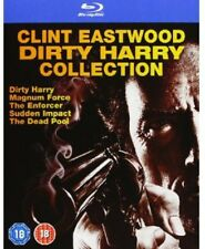 Clint Eastwood Dirty Harry Collection [5 Discs Blu-ray Region ALL