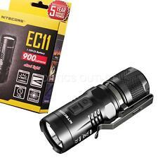 NITECORE EC11 900 Lumens Mini Pocket XM-L2 U2 LED Flashlight, the Brightest