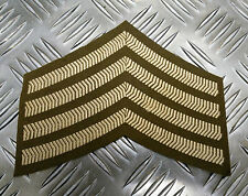 Genuine British Army Drum Major Rank Large Chevrons / Badges / Patches - NEW