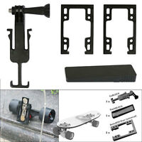 Gopro Sports Camera Mount Riser Bracket Stash Box Drawer For Skate Board