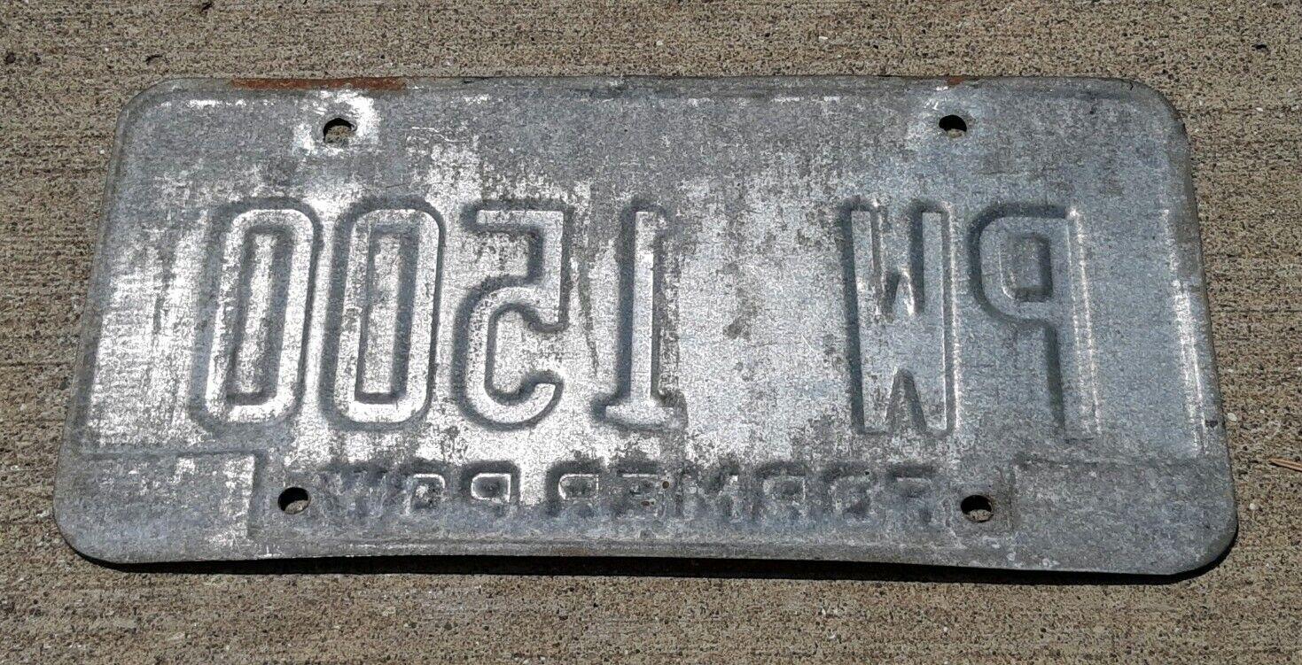 OHIO STATE BUCKEYES LICENSE PLATE OSU BUCKEYE SIGN L89