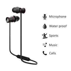 Casque-Ecouteur-Oreillette-Bluetooth-4-1-Sans-fil-Magnetique-Sport-Pour-iPhone