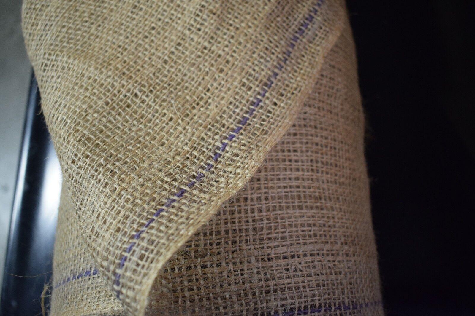 "Burlap Natural Vintage Jute Fabric Sample 4"" Swatch Premium 10 Oz Weight Craft"