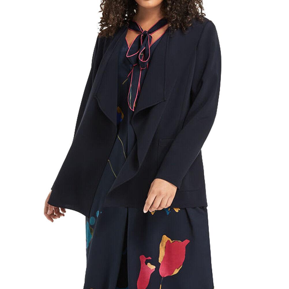 MARINA RINALDI para mujer azul marino Canoa Flowy Chaqueta   515 Nuevo con etiquetas  la mejor oferta de tienda online