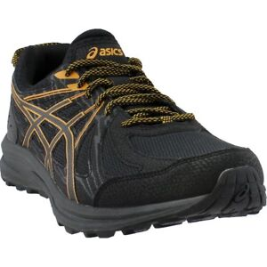 8341f64d44a Image is loading ASICS-Frequent-Trail-Running-Shoes-Black-Mens
