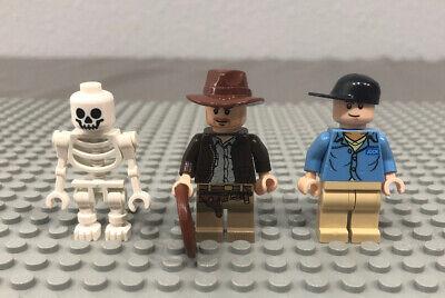 Lego RENE BELLOQ Indiana Jones Minifigure 7623 Temple Escape
