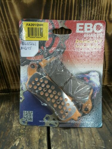 EBC Double-H Sintered Rear Brake Pads FA261//2HH
