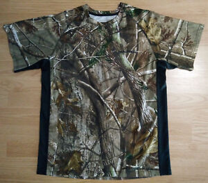 Magellan Men/'s RealTree Edge Camo Short Sleeve T-shirt Camouflage Hunting M L XL
