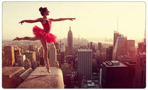Ballett Tanz New York Skyline Wandtattoo Wandsticker Wandaufkleber R0785