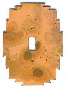 """COPPERCUTTS Heat Treated Copper 4 25"""" x 6"""" Switch Plate"""