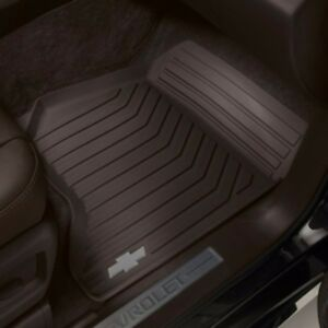 Gm 23452759 front premium all weather mats cocoa 2015 for Suburban floors