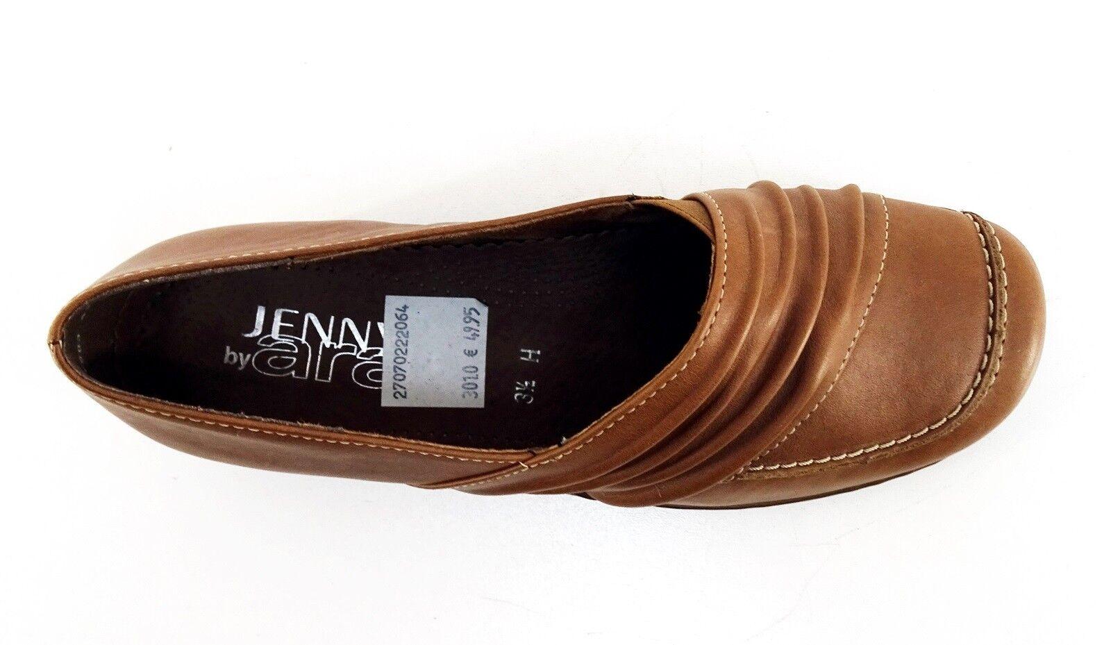 Slipper Jenny by Ara Halbschuhe Luftpolster Echtleder braun H Gr. 3,5 = 36,5 H braun 056ffe