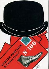 POSTCARD / CARTE POSTALE ILLUSTRATEUR / RATMOND PAGES / CHAPEAU MELON ..........
