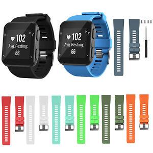 Remplacement-Silicone-Bracelet-Bracelet-Bracelet-Pour-Garmin-Forerunner-35-Watch