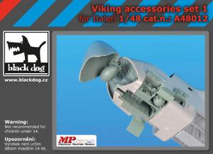 Black Dog 1/48 Viking Accessories Set Vol.1 for Italeri kits