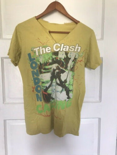 The Clash Vintage 80s London Calling t-shirt