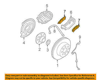 GM OEM Brake-Rear Pads 19210707