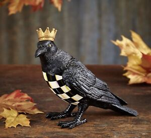 MacKenzie-Childs Crowned Crow - NEW -