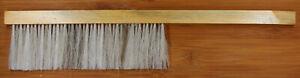 Imkerbesen ca. 40 cm Holzgriff helle Naturfasern zweireihig Imkerei Besen Imker