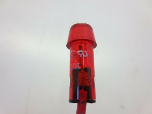 "RED LAMP 250V 1//2WATT 2920A65 INDICATOR LIGHT FITS 5//16/"" HOLE"