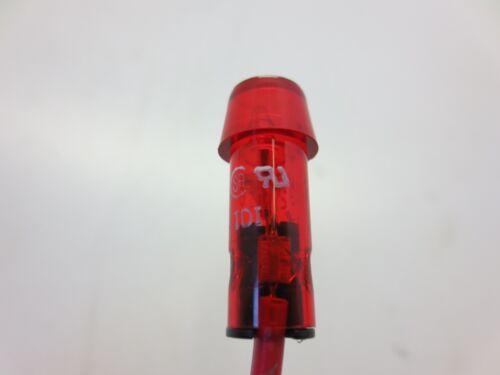 "RED LAMP 250V 1//2WATT 2920A65 INDICATOR LIGHT FITS 5//16/"" HOLE"