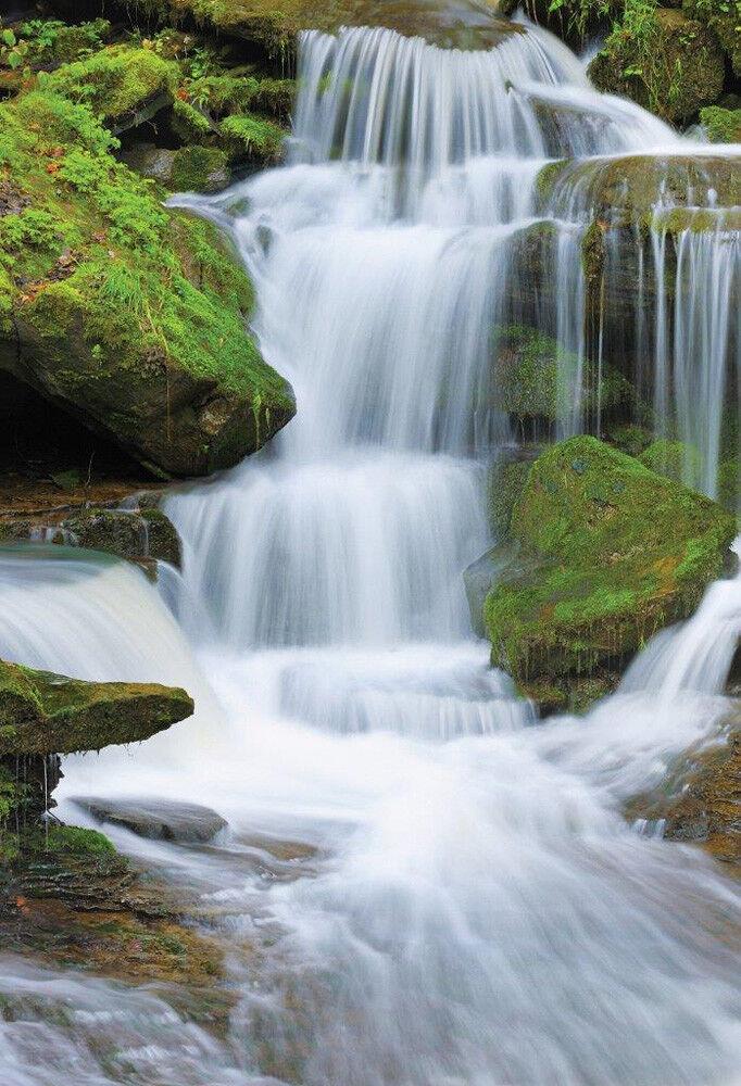 Wasserfälle Foto-Tapete 2-teilig Fototapete Wallpaper 232x158cm