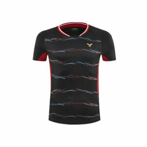 2019-New-victor-men-039-s-sports-Tops-tennis-badminton-Clothes-T-shirts