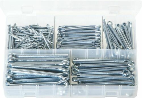 Cotter Pins Retaining Clips 225pce Large Sizes Imperial Split Pin Assortment