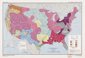 Us Map Of Indian Tribes Cultures Languages Native American - Map-of-us-native-american-tribes