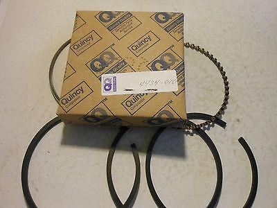 """NOS Quincy Compressor Piston Ring Set 8168 6996 3-1//4/"""" Compression Oil Scraper"""