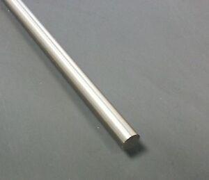 1400mm Edelstahl Rundstab Ø 10mm V2A Korn 240 geschliffen Rundstahl 1000mm