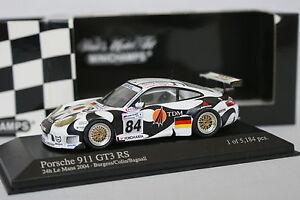 Minichamps-1-43-Porsche-911-GT3-RS-Le-Mans-2004-N-84