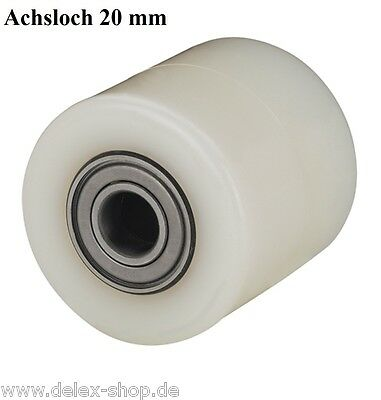 Hubwagenrad 82 Mm Polyamid Breite 50 Mm Achsloch 20 Mm Ohne Bereifung Rad Rolle HüBsch Und Bunt Business & Industrie Business & Industrie