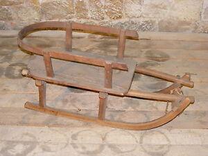 kinderlehne babylehne r ckenlehne f r alten holzschlitten rodel schlitten ebay. Black Bedroom Furniture Sets. Home Design Ideas