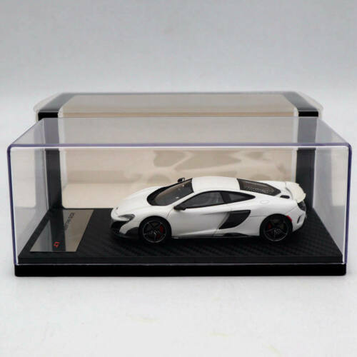 TSM Model 1//43 2015 Mclaren 675LT Silica White Resin Limited Edition Collection
