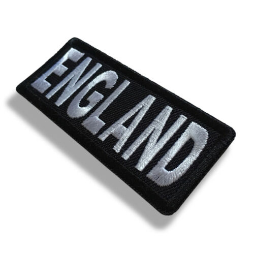 "Embroidered 3/"" England Sew or Iron on Patch Biker Patch"