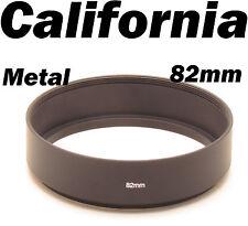 82mm Universal Screw in Mount Metal Lens Hood f Canon Nikon Pentax Sony Olympus