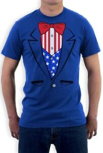 Tuxedo-T-Shirt-USA-Flag-America-4th-of-July-Independence-Day-Patriotic-T-Shirt