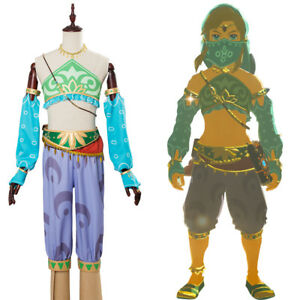 Details About The Legend Of Zelda Link Gerudo Breath Of The Wild Cosplay Costume Halloween