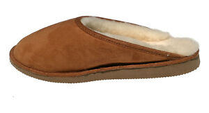 mules pantoufles fourrées - homme - pantoufles peau de mouton ... bdd1dbb9eb1