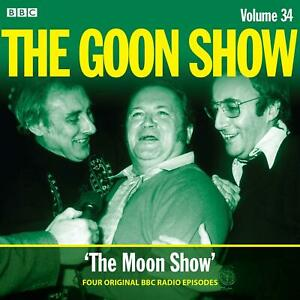 Audio-CD-The-Goon-Show-V34-by-Spike-Milligan