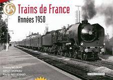 Nicolas Collection NC4F BUCH Trains de France Années 1950 in französisch Neu+OVP