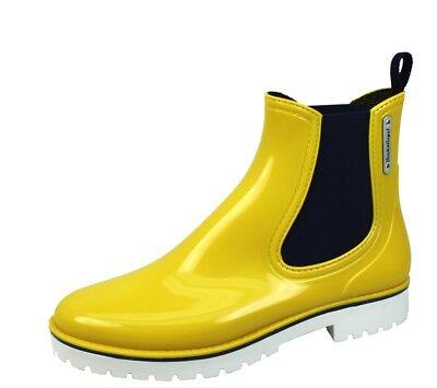 Damen City Stiefel Gummistiefel Bockstiegel Dry Walk gelb blau /& rot 36-43
